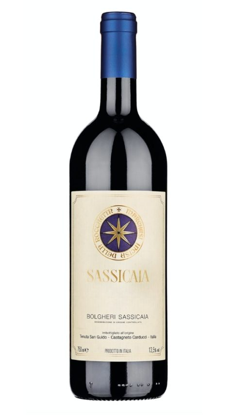 Bolgheri Sassicaia DOC 2016 of the Tenuta San Guido